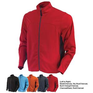 TURFER Lightweight Honeycomb Knit Warm-Up Jackets
