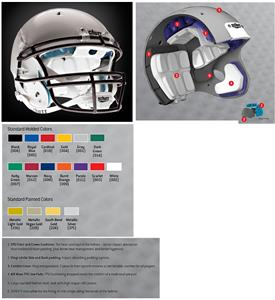 Schutt Youth Recruit Hybrid Football HELMETS