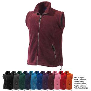 TURFER Women's Katahdin Tek Fleece Vests