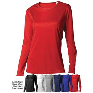 TURFER Women's LS Turf-DRI Training Shirts