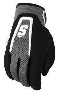 Schutt DNA Red WR/QB/RB Football Gloves