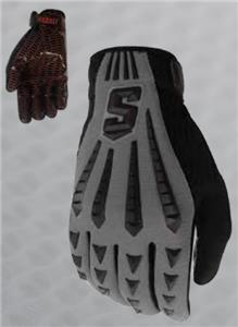 Schutt DNA Black LB/LM Football Gloves