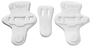 Schutt Football Slotted High-Rise Hip Pads-3pc Set
