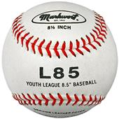 "Markwort Top Qty Leather 8.5"" Jr Size Baseballs DZ"