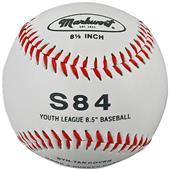 "Synthetic Cover 8.5"" Jr Size Baseballs (DOZEN)"