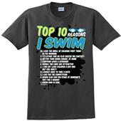 Image Sport Top Ten Reasons I Swim Tee