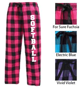 Image Sport Softball Flannel Pant Colors A