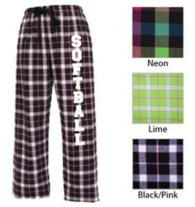 Image Sport Softball Flannel Pant Colors B