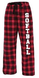 Image Sport Softball Flannel Pant Colors C