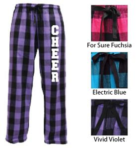 Image Sport Cheerleading Flannel Pant Colors A