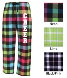 Image Sport Cheerleading Flannel Pant Colors B