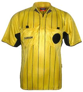 Sarson USA Yuma Striped Referee Jersey