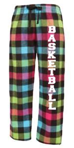 Image Sport Basketball Flannel Pant Colors B