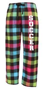 Image Sport Soccer Flannel Pant Colors B