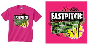 Image Sport Fastpitch Definition T-shirts