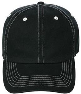 TURFER 6-Panel Contrast Stitch Sports Caps