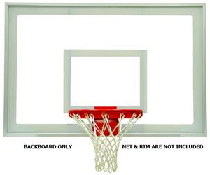 "32"" x 48"" Rectangular Acrylic Basketball Backboard"