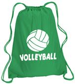 Volleyball Drawstring Backpack