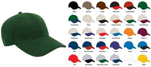 Pacific Headwear 101C Brushed Twill Baseball Caps