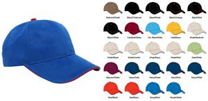 Pacific Headwear 121C Brushed Twill Baseball Caps