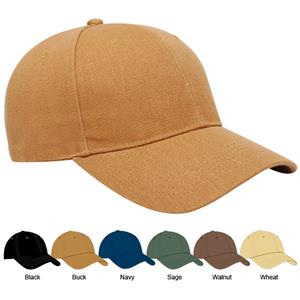 Pacific Headwear 191C Cotton Duck Baseball Caps