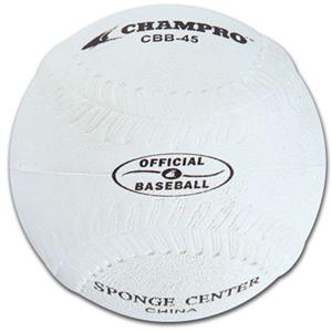 Indoor/Outdoor Rubber Practice Baseballs CBB-45