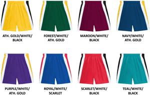Youth 3 Color Performance Shorts-CLOSEOUT