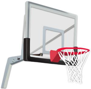 "Basketball Backboard Edge Padding for 48"" Acrylic"