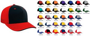 Pacific Headwear 398F M2 Contrast Baseball Caps