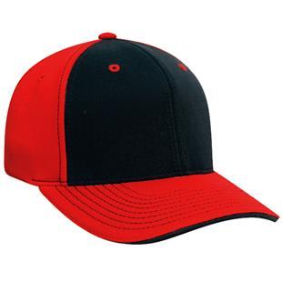 Pacific Headwear 398F M2 Contrast Baseball Caps