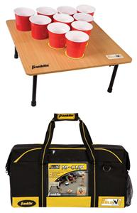 Franklin Sports Fold-N-Go Pong 10 Cup Tailgate