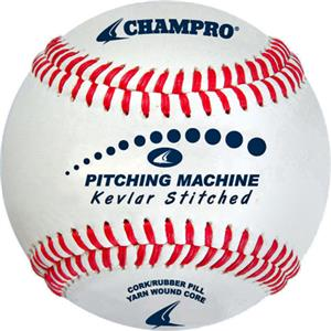 "7"" Kevlar Flat Stitched Pitch Machine Baseballs"