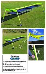 Jaypro 20 x 6 Lowdown Linemen Chute