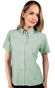 Blue Generation Ladies SS Classic Oxford Shirts