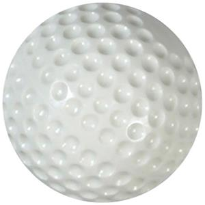 "9"" Dimple Molded Machine Baseballs White or Yellow"