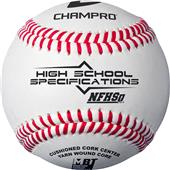 Champro Official NFHS League Baseballs CBB-HSJ