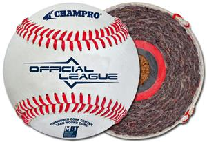 Champro Official League CBB-300 Baseballs (Dozen)