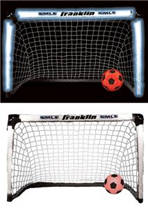 Franklin Sports MLB Light Up Soccer Goal Set