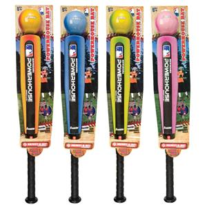 MLB Powerhouse Baseball Bat/Ball Adjust Hit