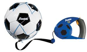Franklin MLS Soccer Leash, Ball & Pump