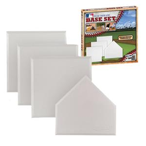 MLB Deluxe 4-Piece Throw-Down Rubber Base Set