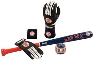 Franklin MLB Red Sox Complete Tee Ball Set