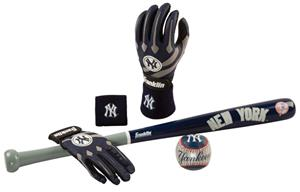 Franklin MLB Yankees Complete Tee Ball Set