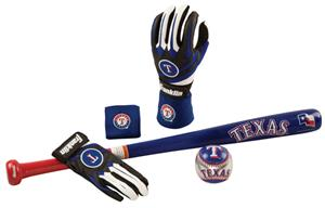 Franklin MLB Rangers Complete Tee Ball Set
