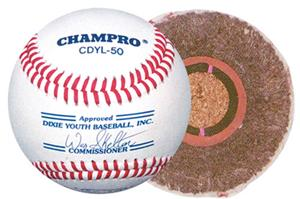 Dixie League App'd Leather Baseballs (DZ)  CDYL-50