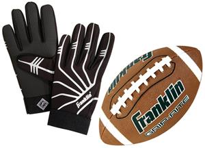 Franklin GRIP RITE Jr. Ball & Receiver's Glove Set