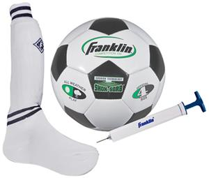 Franklin Complete Youth Soccer Set/Pump #4 Ball
