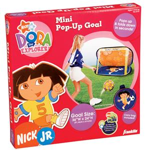 Mini Dora the Explorer Pop-Up Soccer Goal