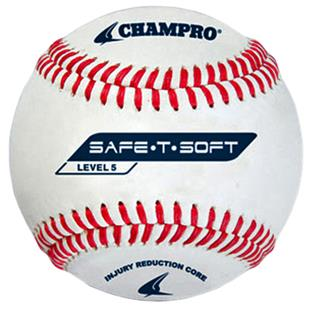 Champro Safe-T-Soft Baseballs-Level 5 CBB-65