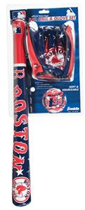 MLB BOSTON RED SOX Bat, Ball &amp; Glove Set 